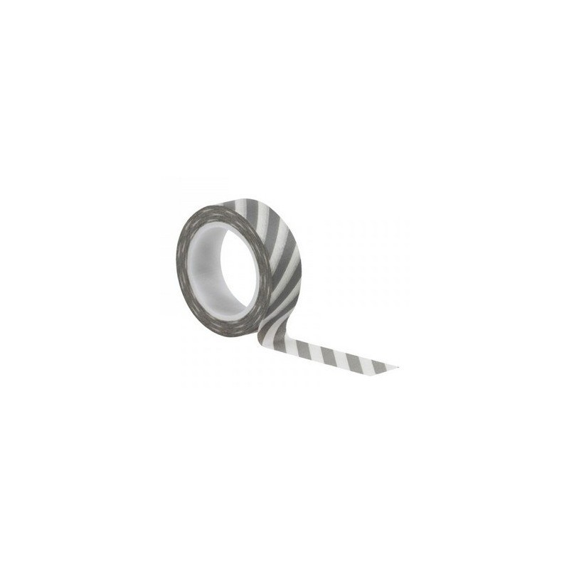 Washi Tape - Stripes Grey