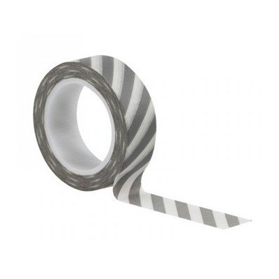 Washi Tape - Stripes Grey