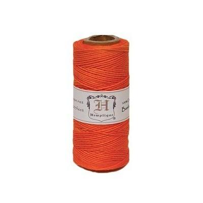 Ficelle de bambou - Orange Neon (bobine)