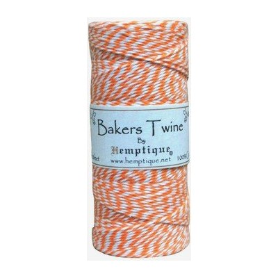 Bakers Twine - Orange (bobine)