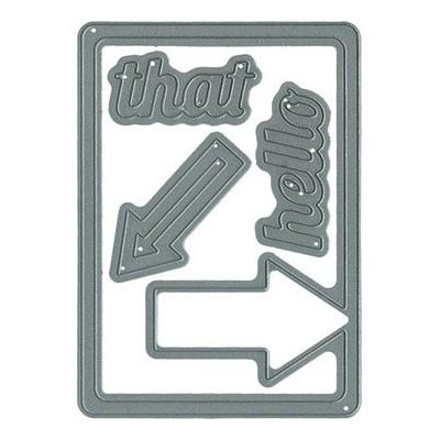 Dies Technique Tuesday - That Arrow Card