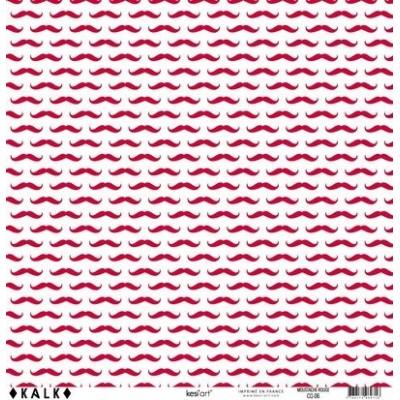 Papier KALK - Moustache Rouge