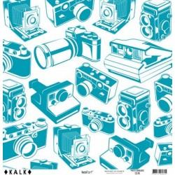Papier KALK - Photo Turquoise
