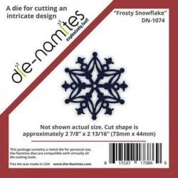 Die-Namites - Frosty Snowflake