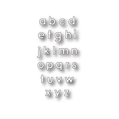 Die Memory Box - Alphabet Soup