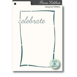 Pochoir MemoryBox - Celebrate
