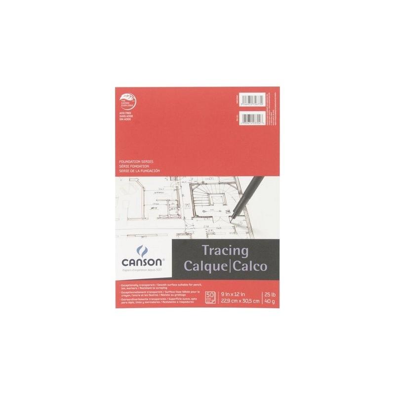 Papier Calque - 22.9 x 30.5 cm - 40gr/m²
