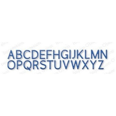 Die Impression Obsession - Alphabet Plain UC