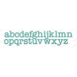 Die Impression Obsession - Alphabet Typewriter LC