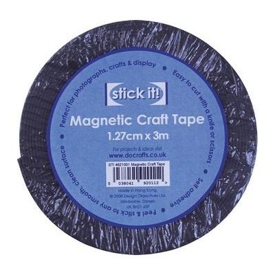 Ruban adhésif magnétique - Stick it - Docrafts - 1.27cm x 3m