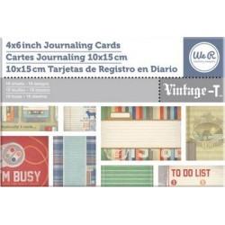 Cartes We R Memory Keepers 10x15 cm - Vintage-T