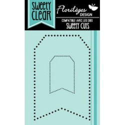 Tampons Sweety Clear Florilèges - Tags Points