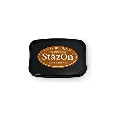 Encreur Stazon Saddle Brown