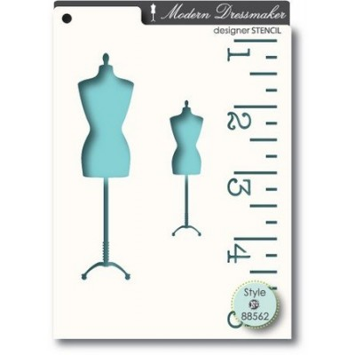 Pochoir MemoryBox - Dressmaker