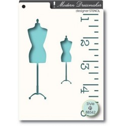 Pochoir MemoryBox - Dressmaker