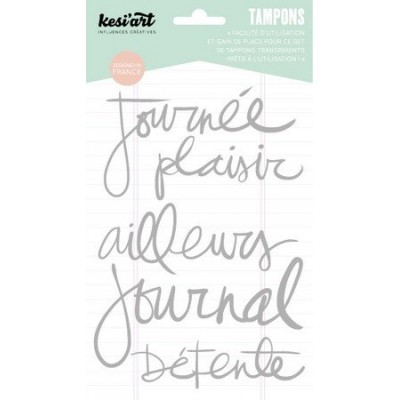 "Tampons clear KesiArt ""Ailleurs"""