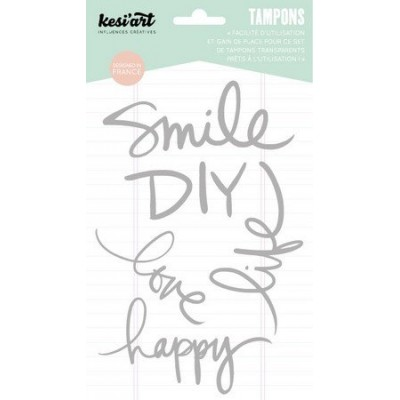 "Tampons clear KesiArt ""Smile"""