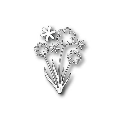 Die Poppystamps - Groovy Flower