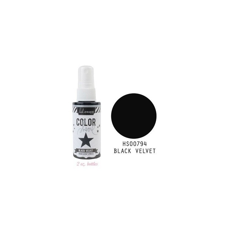Spray Color Shine - Black Velvet