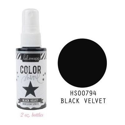 Spray Color Shine - Black Velvet
