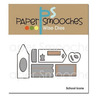 Die PaperSmooches - Scool Icons