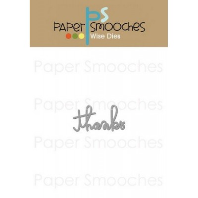 Die PaperSmooches - Thanks Word