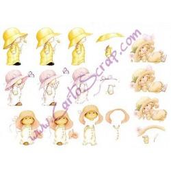 Image Carterie 3D - Petites Filles