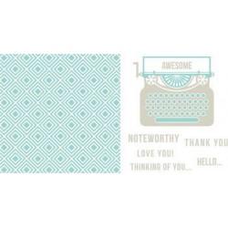 Plaques pour Letterpress - Typewriter