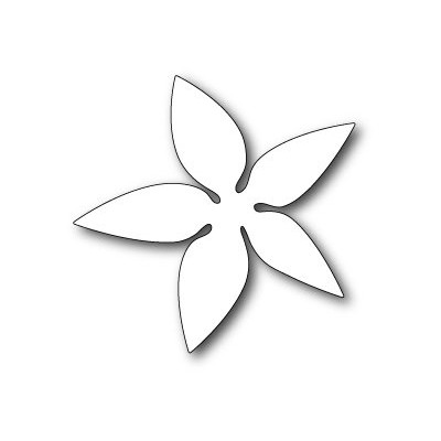 Die Poppystamps - Luxe Poinsettia Background
