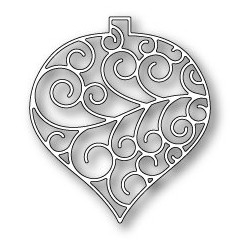 Die Poppystamps - Luxe Ornament Outline