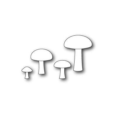 Die Poppystamps - Forest Mushrooms