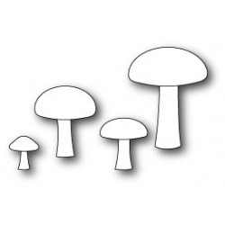 Die Poppystamps - Forest Mushrooms