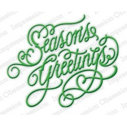 Die Impression Obsession - Season's Greetings