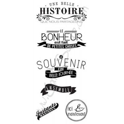 Tampons CartoScrap - Une Belle Histoire