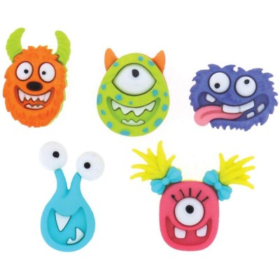 Boutons Dress It Up - Mad for Monsters