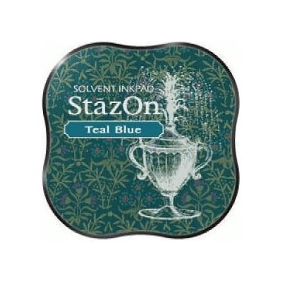 Mini Encreur Stazon Teal Blue