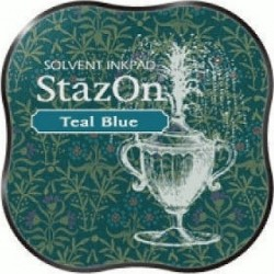 Mini Encreur Stazon Teal Blue