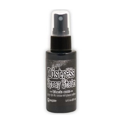 Distress Spray Stain - Black Soot