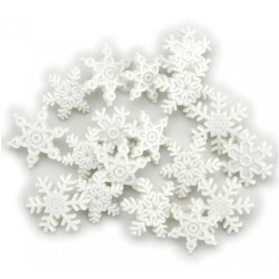 Boutons Dress It Up - Snow