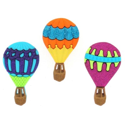 Boutons Dress It Up - Hot Air Balloons