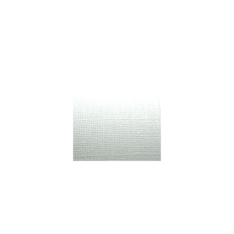 Cardstock texturé canvas - Coloris Blanc