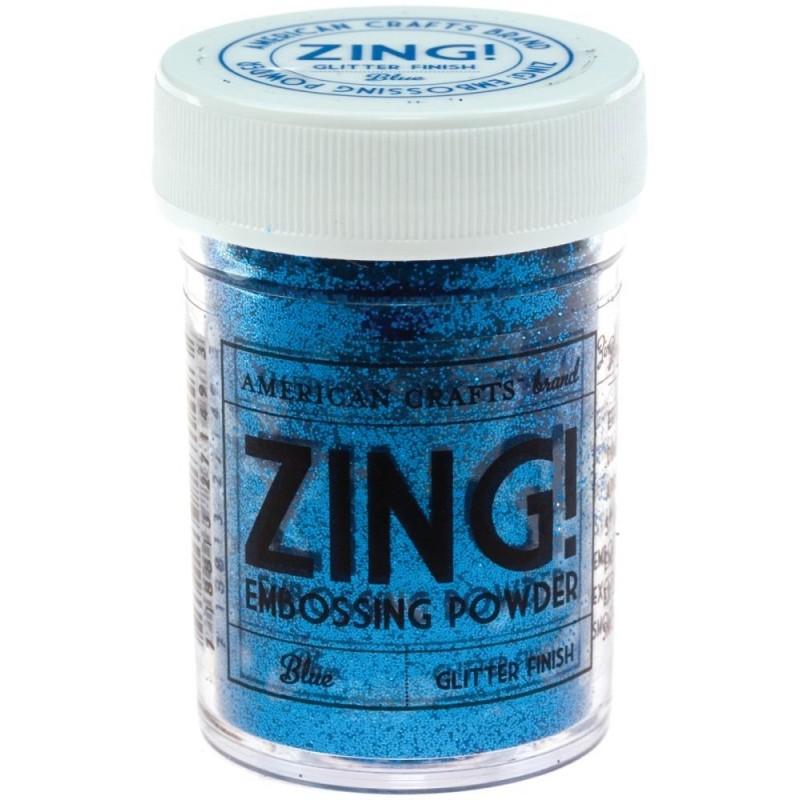 Poudre à embosser Zing! Glitter - Blue