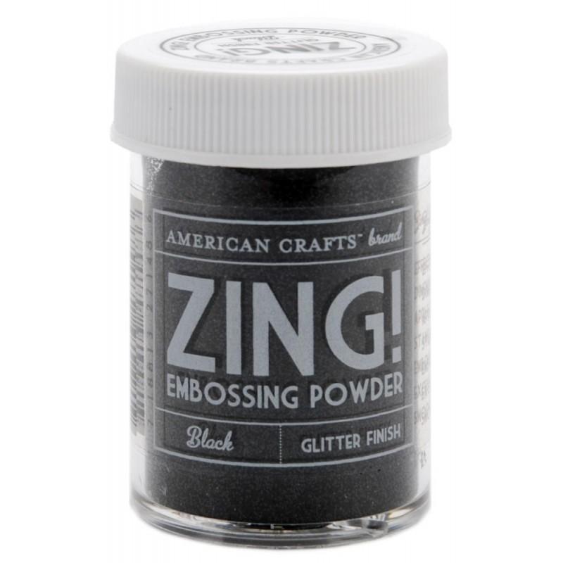 Poudre à embosser Zing! Glitter - Black