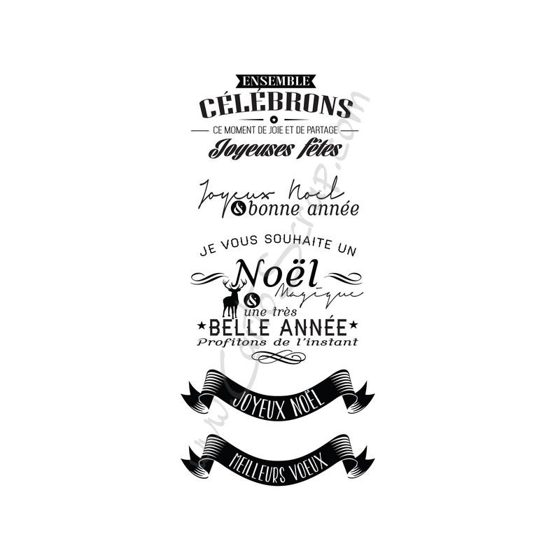 Tampons CartoScrap - Noël Magique
