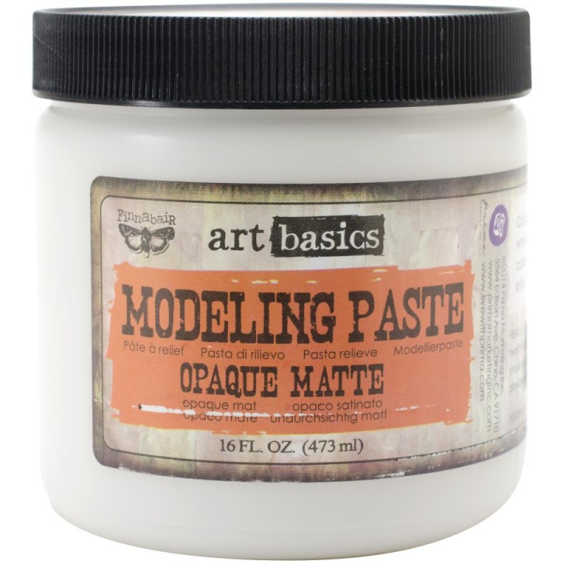 Pâte de structure - Modeling Paste - Art Basics (473 mL)