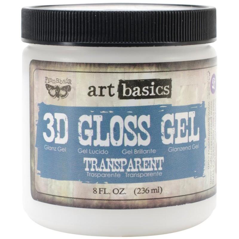 Gel 3D Brillant - 3D Gloss Gel - Art Basics (236 mL)