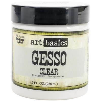 Gesso Clear - Gesso Transparent - Art Basics (250 mL)