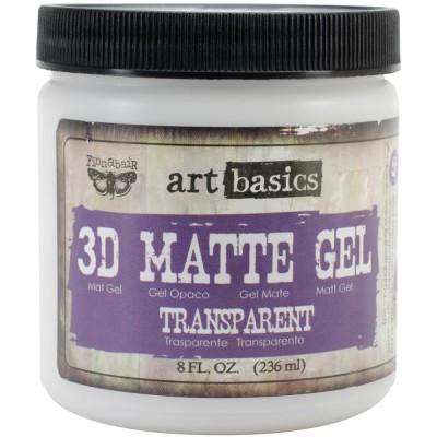 Gel 3D Mat - 3D Matte Gel - Art Basics (236 mL)