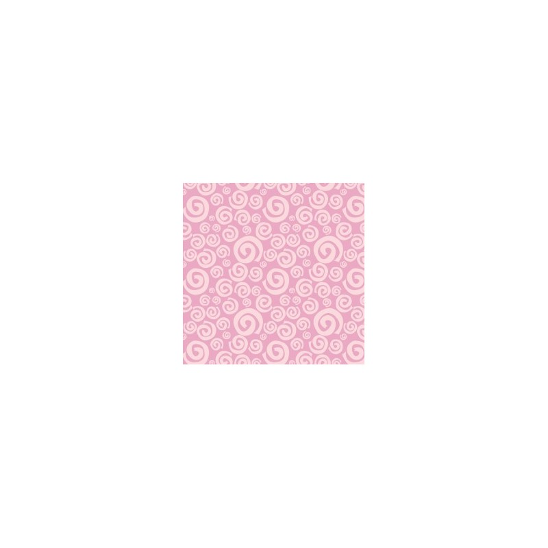 Fat Quarter Camelot - Dream a Little Dream - Pink Swirls