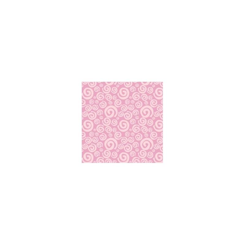 Fat Quarter Camelot - Dream a Little Dream - Pink Swirls